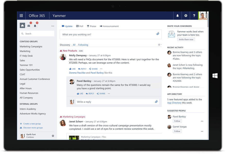 Office 365 Groups vs Yammer: How Microsoft has Combined the Two