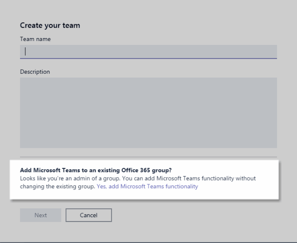 Office 365 Groups vs Teams