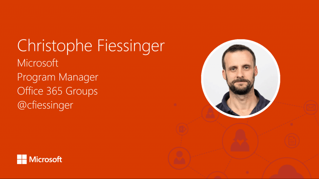 Microsoft's Christophe Fiessinger answers your Office 365 questions